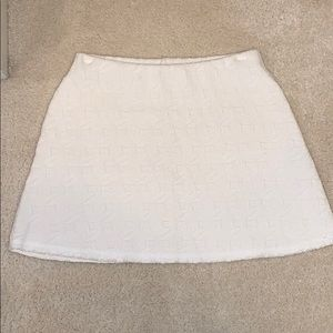 Zara Skirts - Zara white patterned skirt size Medium!